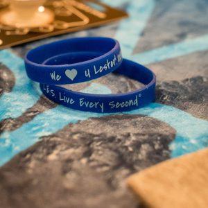 Blue Wristbands